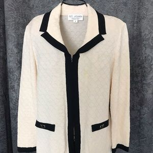 St John Collection by Marie Gray  knit jacket